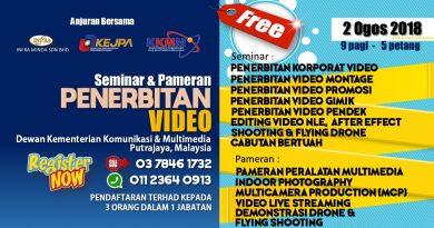 Seminar dan Pameran Penerbitan Video
