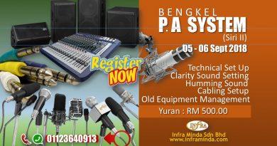 BENGKEL PENGENDALIAN TEKNIKAL AUDIO SYSTEM SIRI II